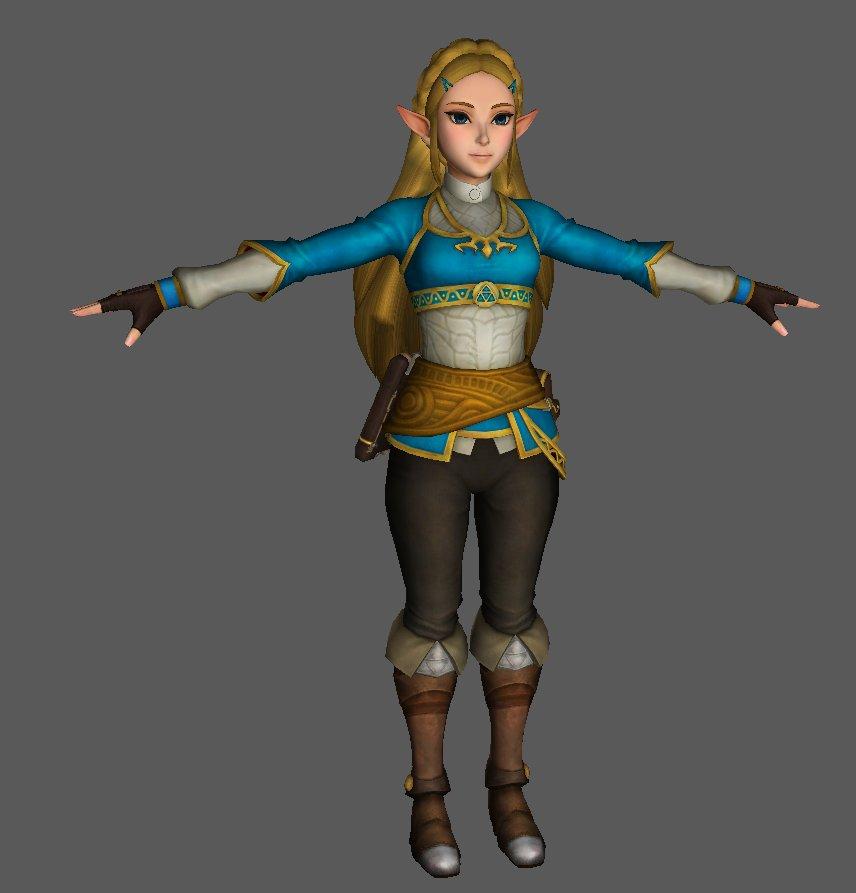 Hyrule Warriors Definitive Edition Botw Zelda By Dsx8 On Deviantart