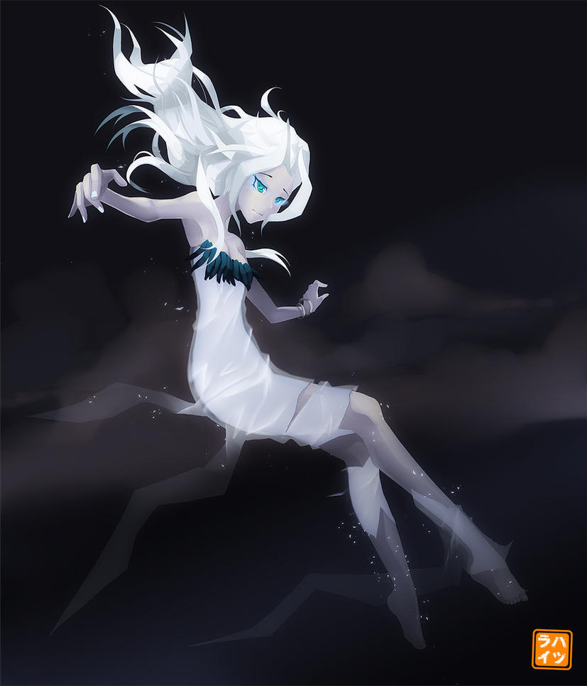 -COM- Kaori The Ghost by Hatsuraikun