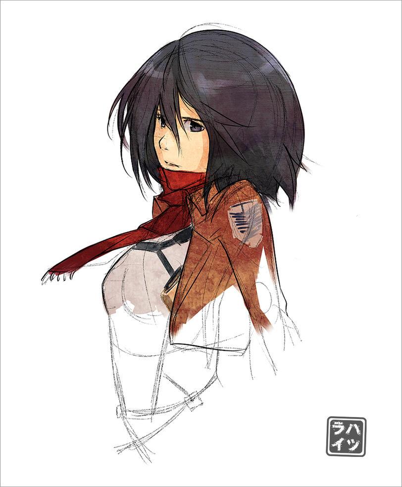 Mikasa by Hatsuraikun