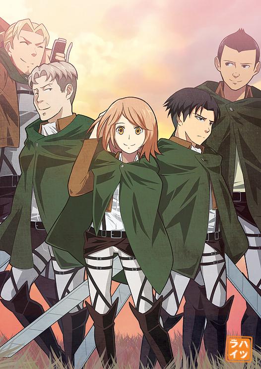 Squad Levi by Hatsuraikun