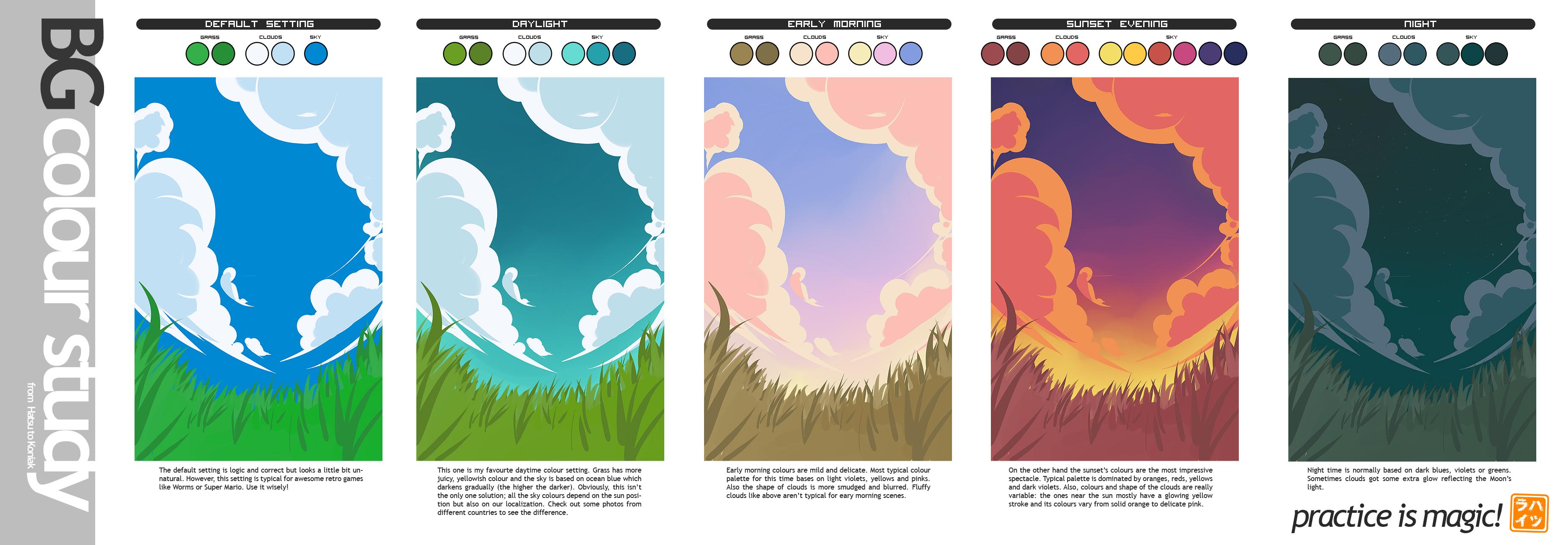 BG Colour Study for Koniak by Hatsuraikun