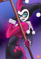 Classic Harley Quinn by Hatsuraikun