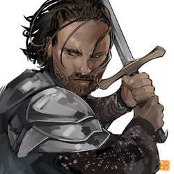 Six Fanarts Challenge: 06 Aragorn
