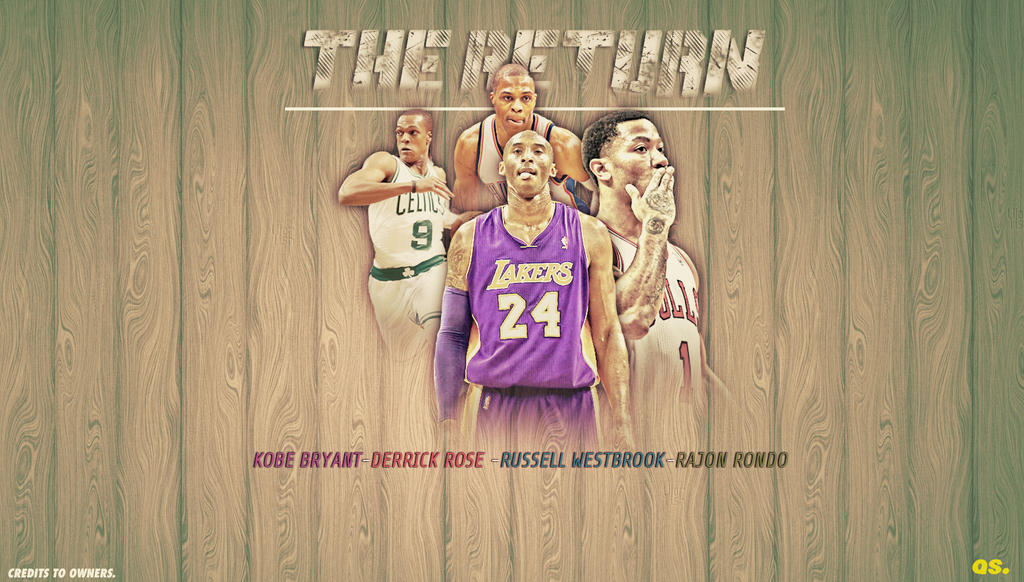 The Return NBA Superstars Wallpaper by assasinsilent