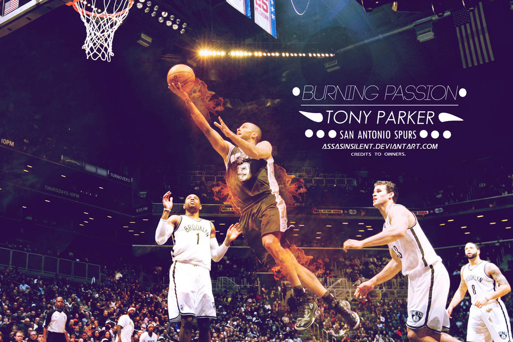 Tony parker burning passion wallpaper by assasinsilent on deviantart tony parker burning passion wallpaper by assasinsilent voltagebd Choice Image