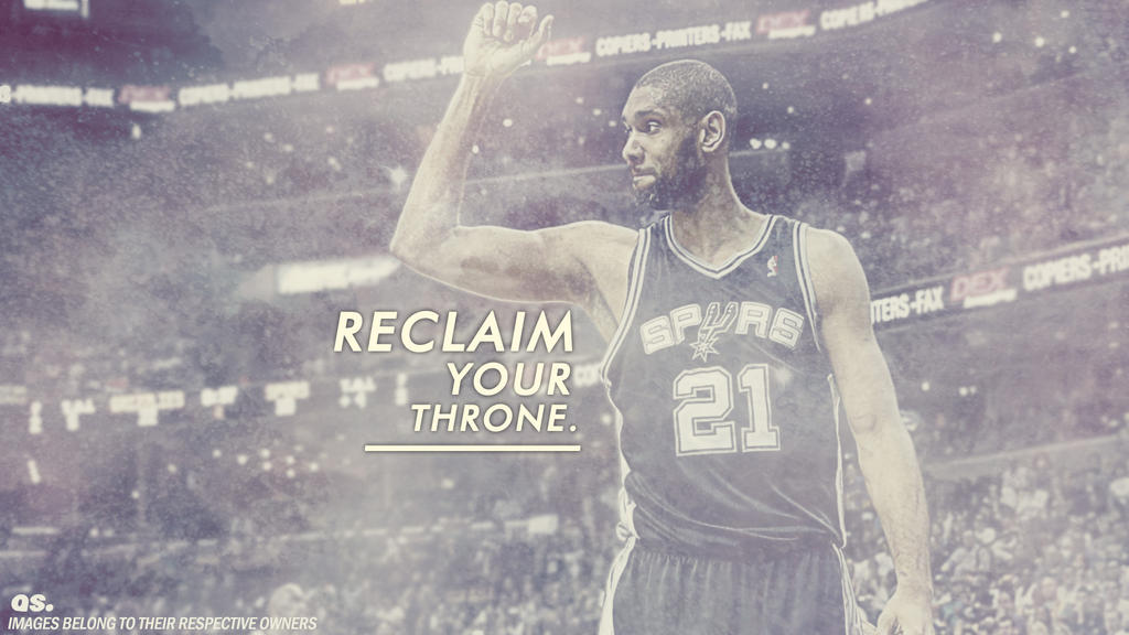 Tim duncan 39 reclaim your throne 39 wallpaper by - Tim duncan iphone wallpaper ...