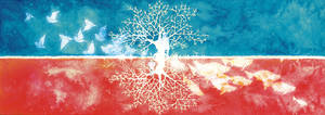 Red tree and Blue tree