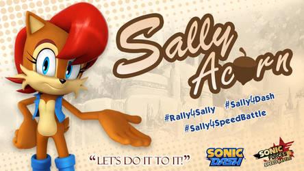 Sally Acorn - Promo Banner by rickychip