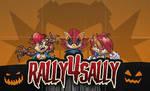 Spooky Scary Sallies by rickychip