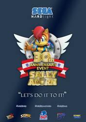 Sally Acorn 30th Anniversary by rickychip