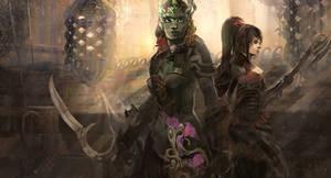 Guild Wars 2: Path of Fire by evasburg