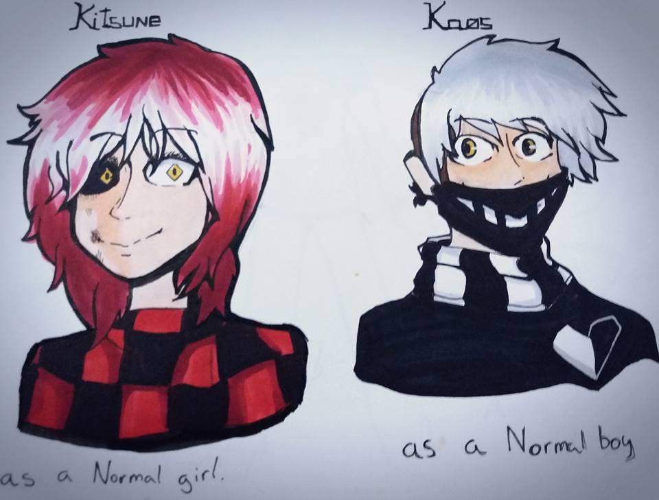 Kitsune and Kaos by Alphaggedon