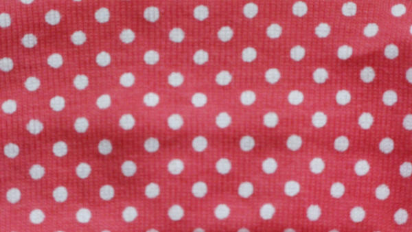 Texture-Pink White Polka Dots by liz-stock