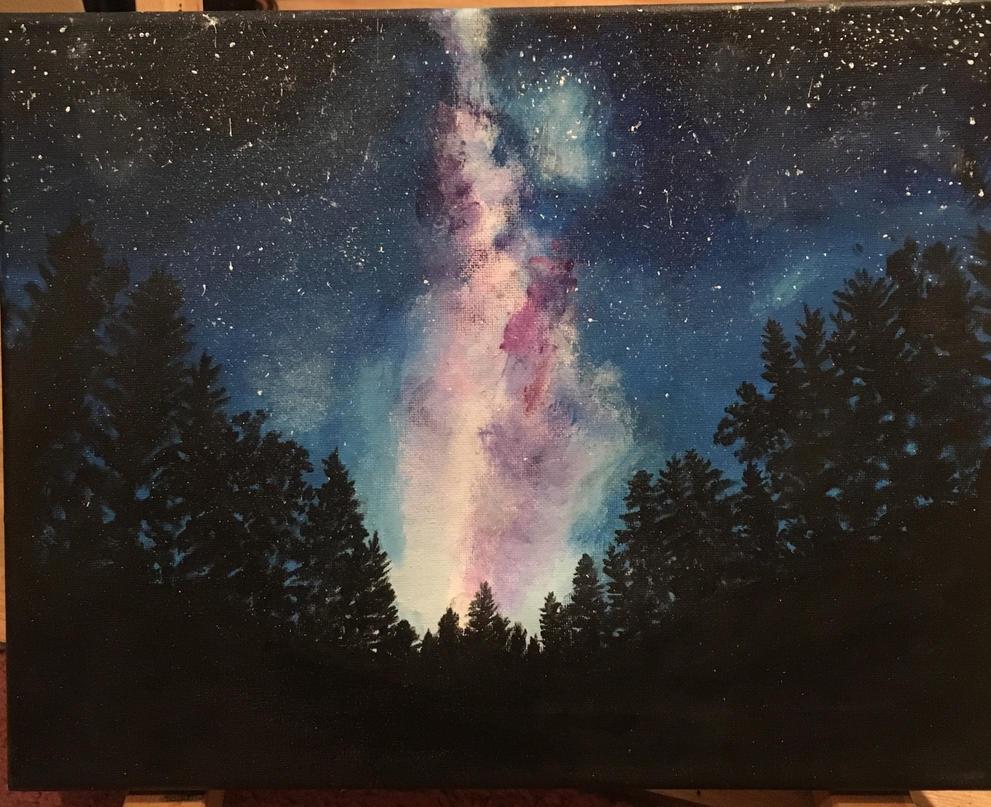 A Night In The Woods By Kberlow