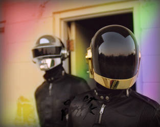 Daft Punk Rainbow by NotAgOat