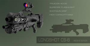 Nerf Longshot CS-6 Mod