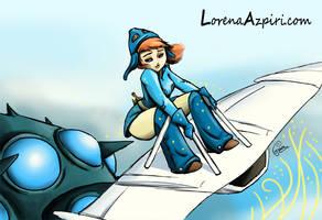 Nausicaa by LorenaAzpiri