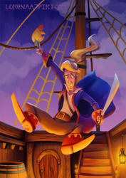 Guybrush Threepwood by LorenaAzpiri