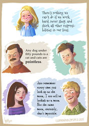 Parks adn Recreation by LorenaAzpiri