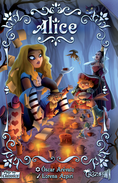 Alice Boardgame Cover