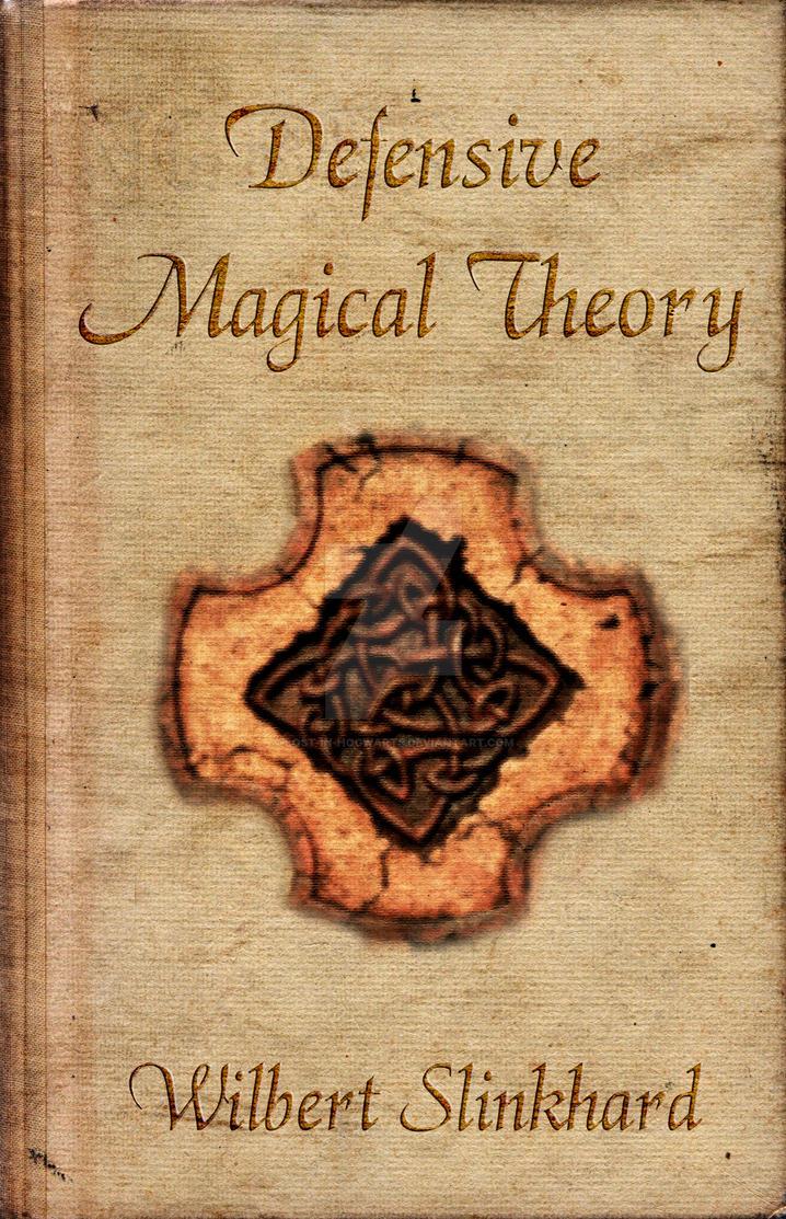 Harry Potter Book Art Hogwarts Defensive Magic...