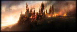 Hogwarts is burning