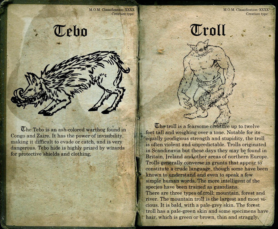 Tebo And Troll Page 58 By Lost In Hogwarts On DeviantArt
