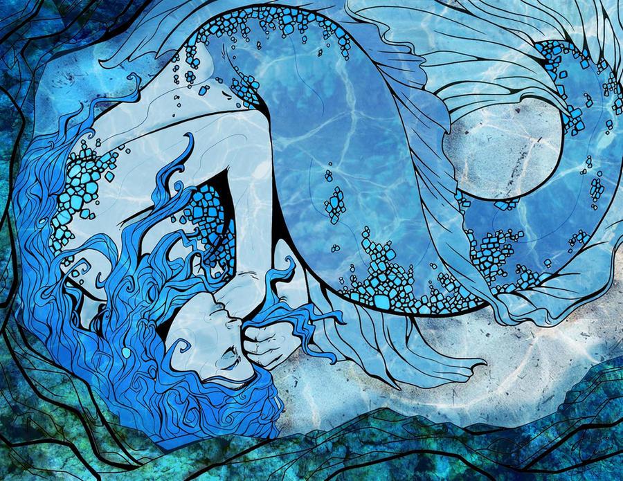 The Sleeping Mermaid by Lost-in-Hogwarts