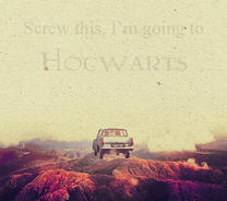 Screw this, going to Hogwarts by Lost-in-Hogwarts
