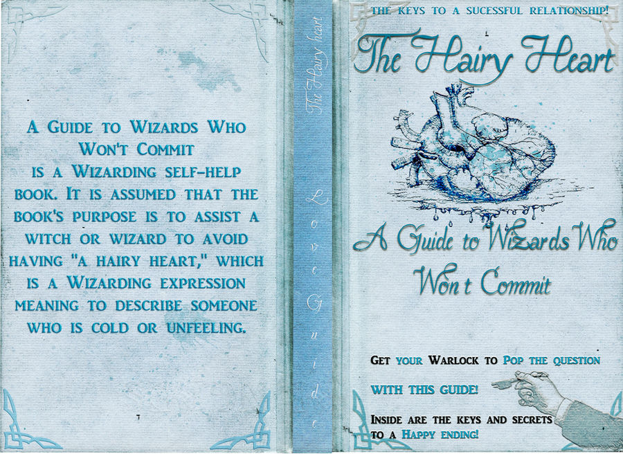 The Hairy heart love guide FULL cover by Lost-in-Hogwarts on