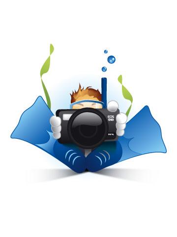 SCUBA ID PHOTO by diversdream