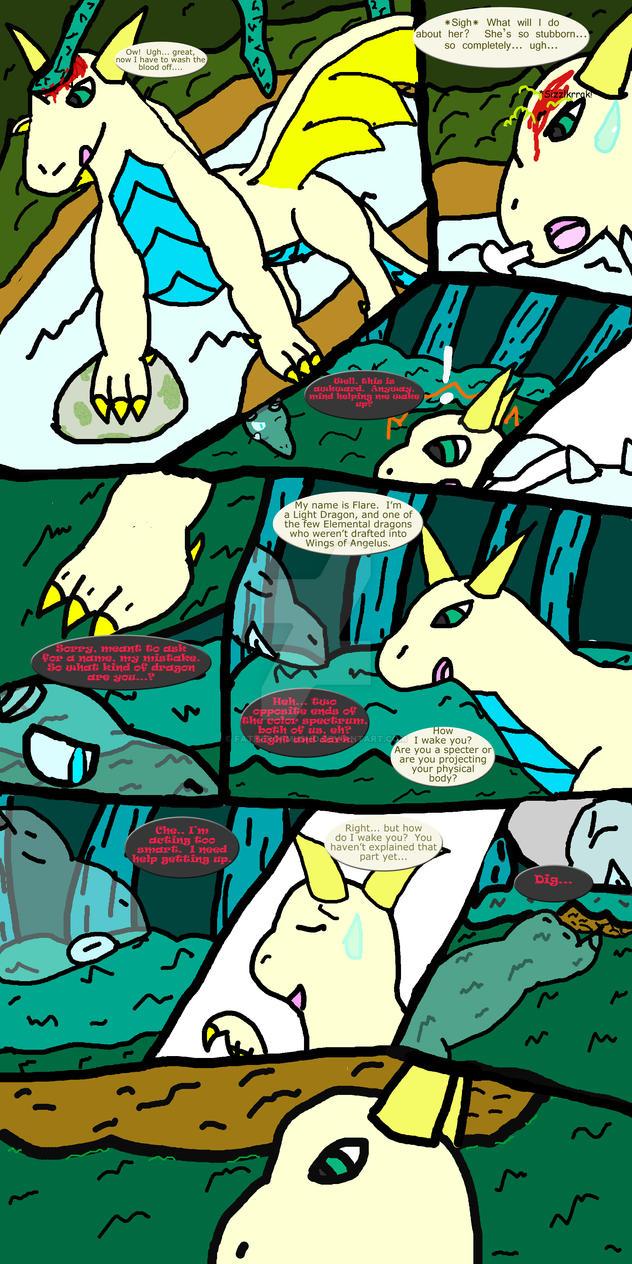 TalonFyre #1 - Awakening, pg. 1 by FatherOfMusho