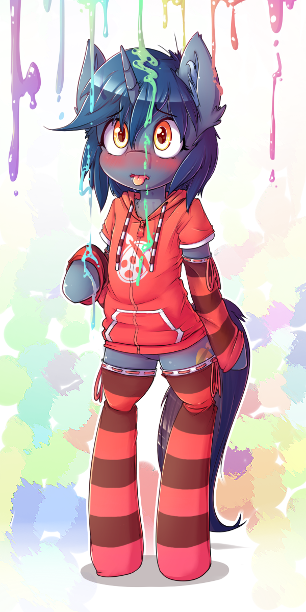 Paint Drops by t-Hoodie