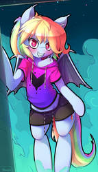 Rainbow Dash the Bat