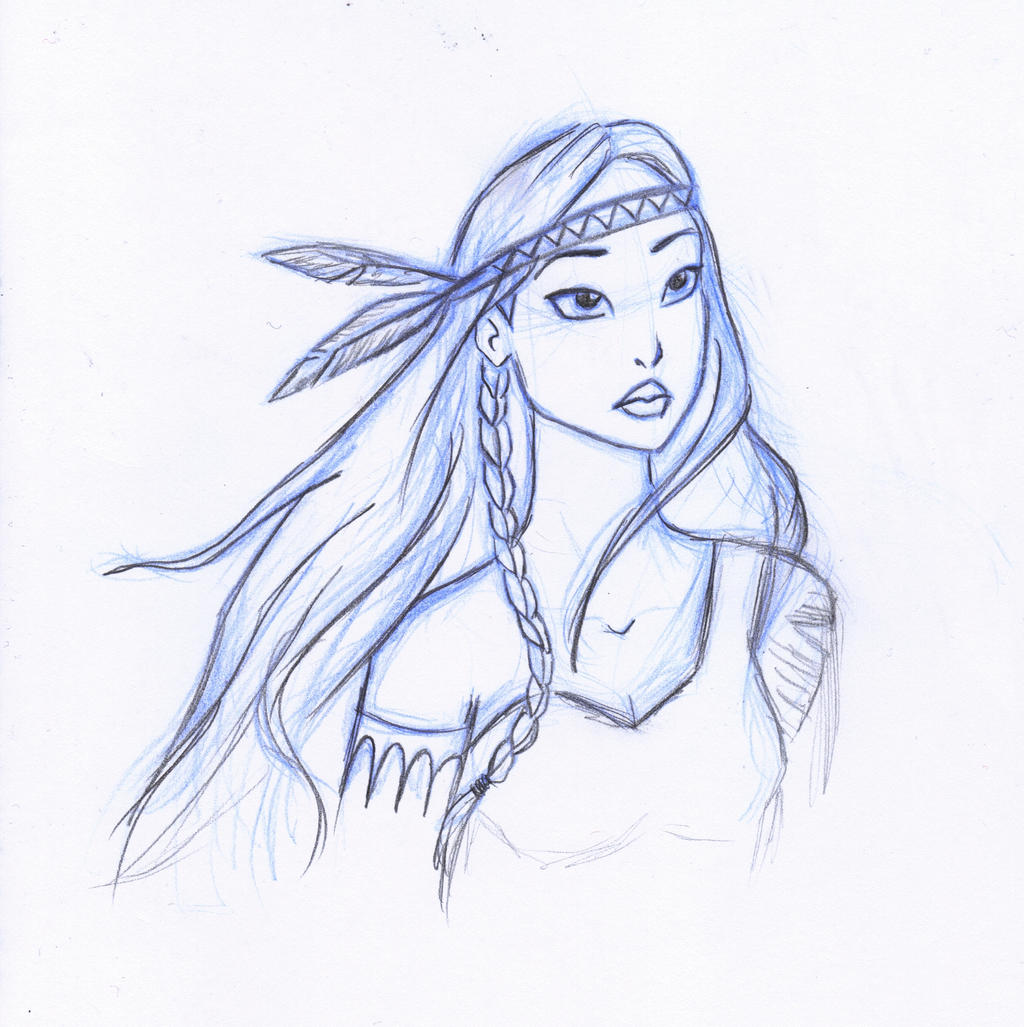 Pocahontas By SerifeB On DeviantArt
