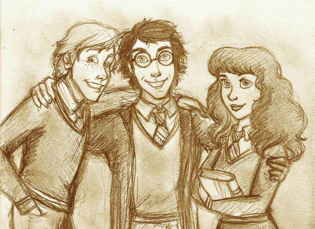 HP - Trio by SerifeB