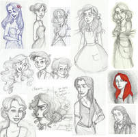 Sketches 2011 by SerifeB