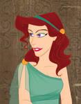 The greek lady