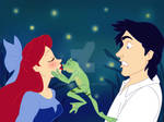 Kiss the ... frog!