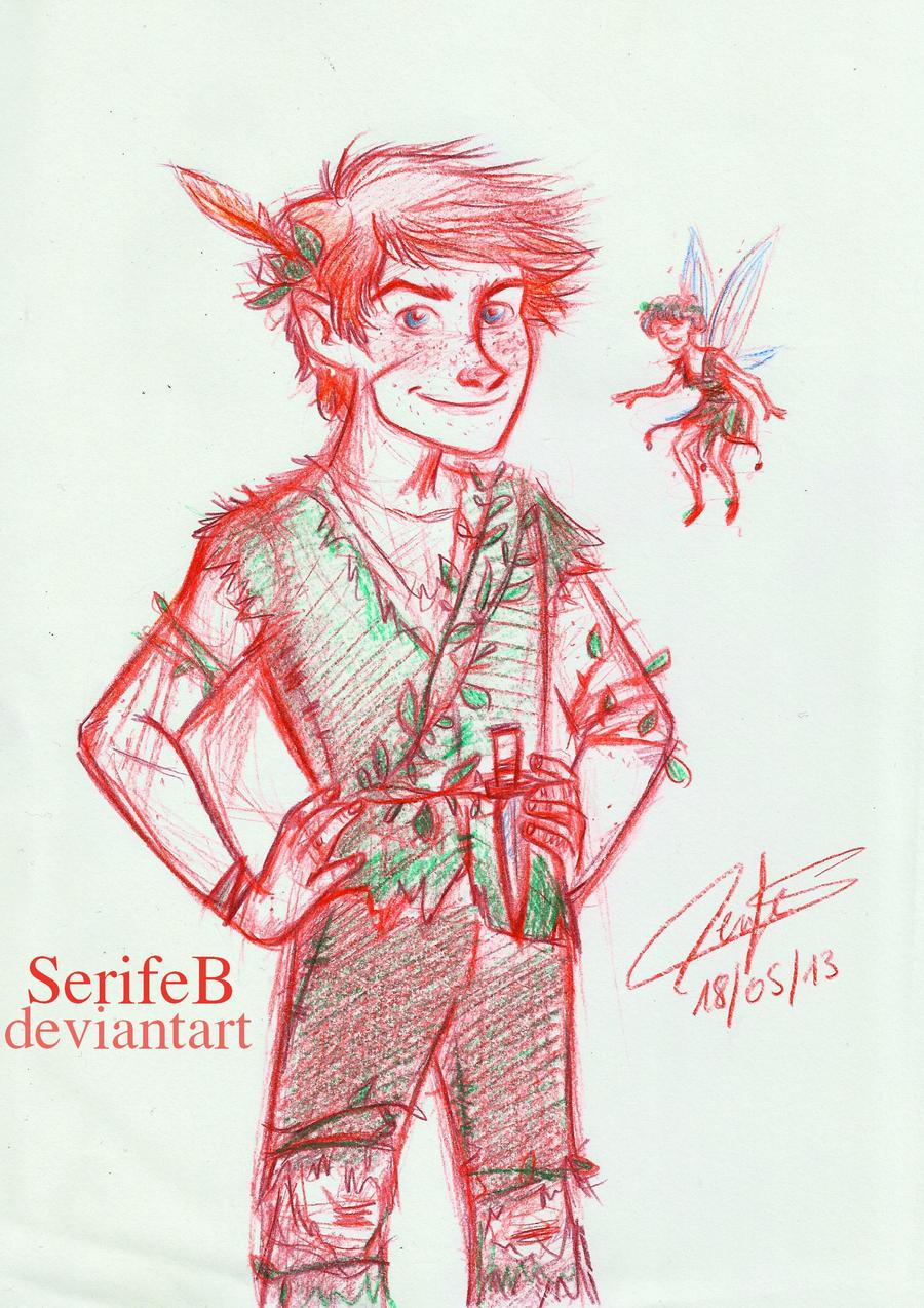 Peter Pan by SerifeB