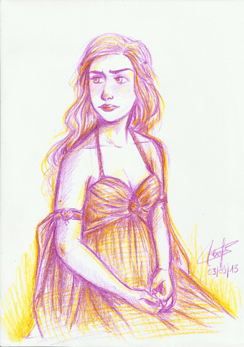 Daenerys by SerifeB