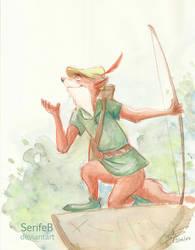 Day 3 : 09/06/14 - Robin Hood (1973) by SerifeB