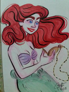 Day 7 - The little mermaid