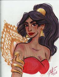 Day 9 - Aladdin by SerifeB