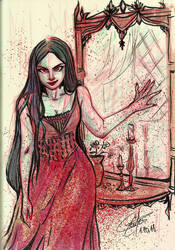 Vampire's reflection