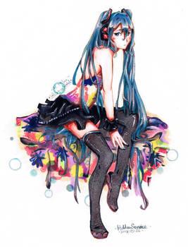 Hatsune Miku - VOCALOID - Tell Your World