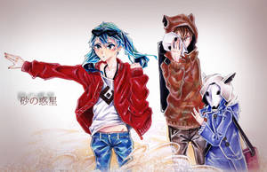VOCALOID - Sand Planet - Crossover
