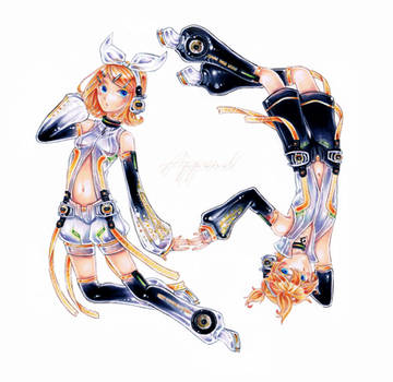 VOCALOID2 - Rin x Len - Append Ver. by HiddenService