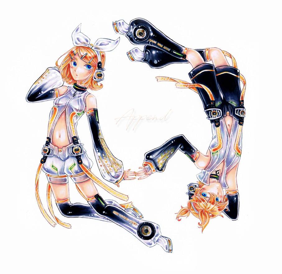 VOCALOID2 - Rin x Len - Append Ver.