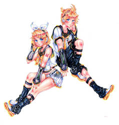 VOCALOID4 - Kagamine Rin x Len V4x - COPIC by HiddenService